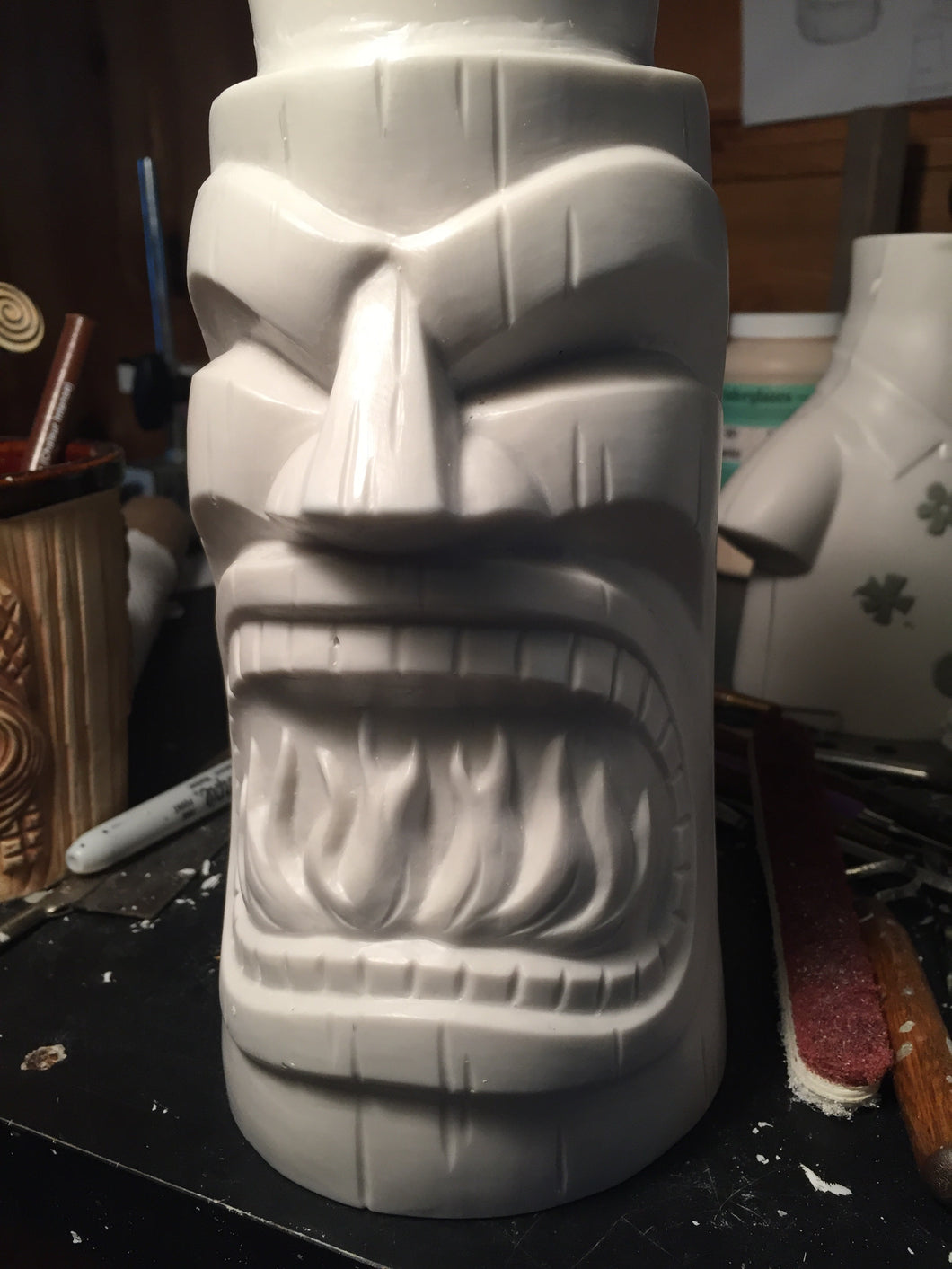 Shipped only! TU First Anniversary Tiki Mug: initial run pre-order