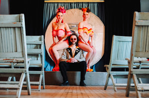 Advance General Admission for Luxotica Lounge Cabaret burlesque variety show at Tiki Underground