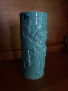 TU logo Mermaid Tiki Mug