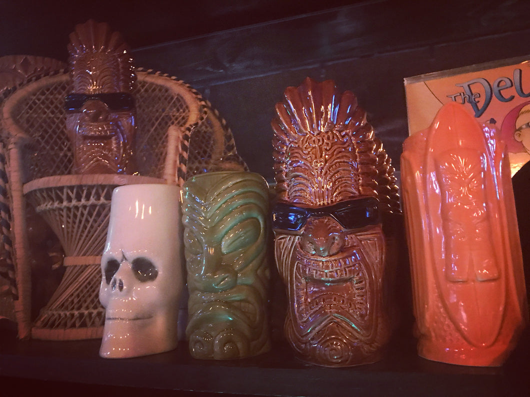 For Pickup at TU Only! Tiki Mug with Cocktail