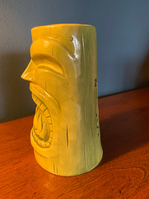 PICK UP ONLY! First Anniversary GREEN Tiki Mug