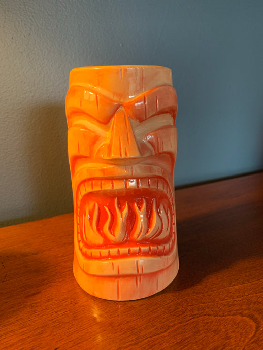 PICK UP ONLY! First Anniversary RED Tiki Mug
