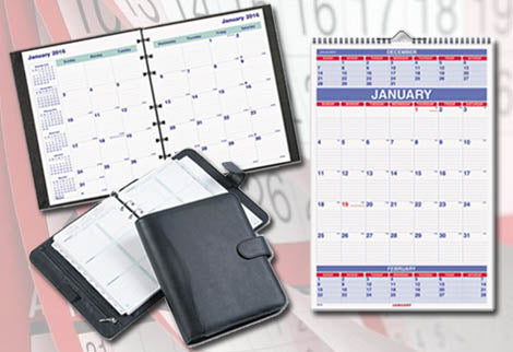 Appointment Books, Planners & Calendars