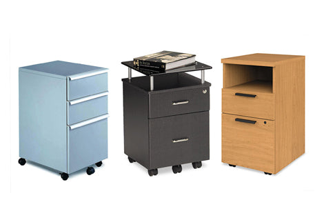 File Carts & Pedestal Files