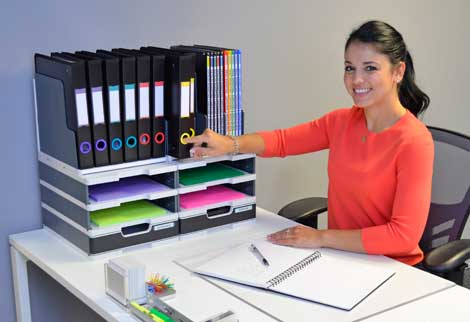 Combination Desktop Organizers