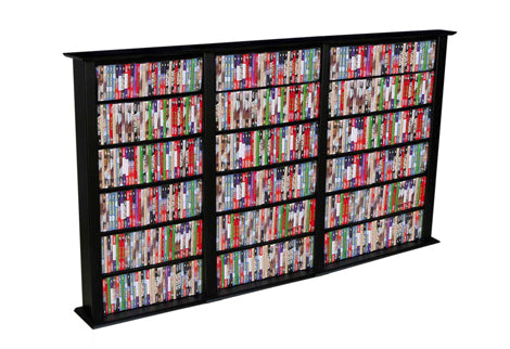 Against-the-Wall Media Storage Racks