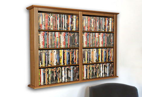 Wall-Mount Media Racks