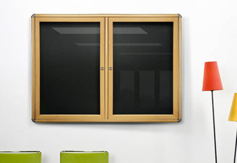 Indoor Bulletin Board Cabinets