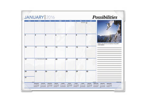 Monthly Desk Pad Calendars