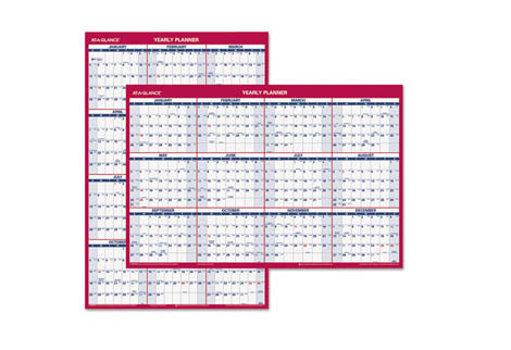 Yearly Format Wall Calendars