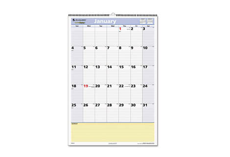 Monthly Format Wall Calendars