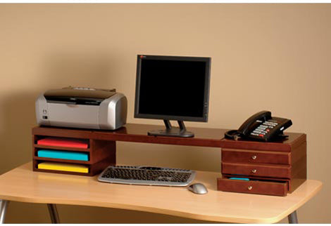 WoodWorx™ Desktop Risers