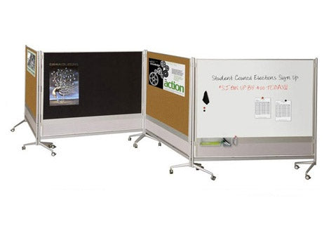 Mobile Whiteboard Collaboration Screens & Dividers