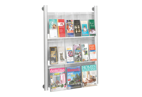 Steel Wall Literature Displays