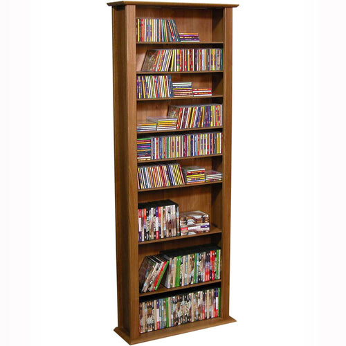 1-Wide Tall Media Shelves