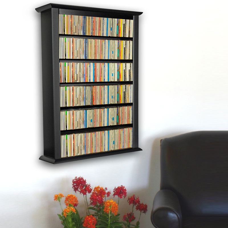 1-Wide Wall-Mount Media Cabinet