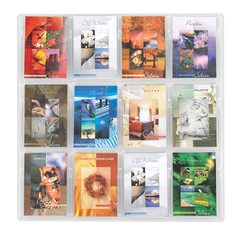 12 Booklet Display Clear