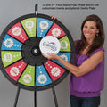 "12-Slot 31"" Floor Stand Prize Wheel"