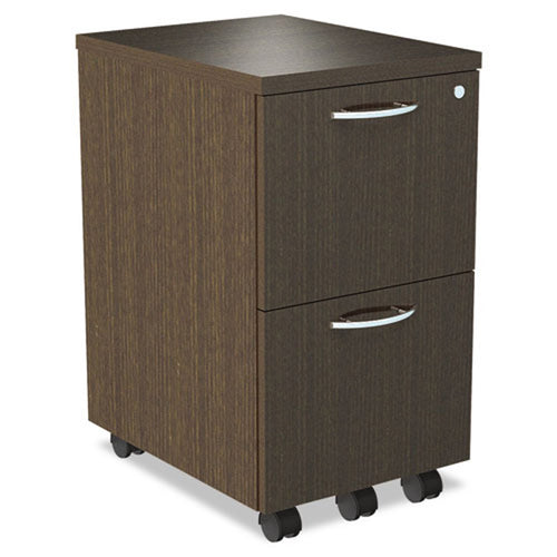 "2 File Drawer Wooden Mobile Pedestal File, 20""d"