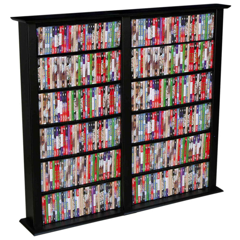 2-Wide Media Shelves