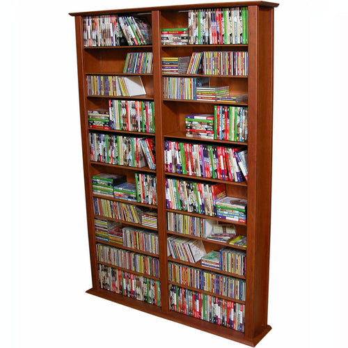 2-Wide Tall Media Shelves