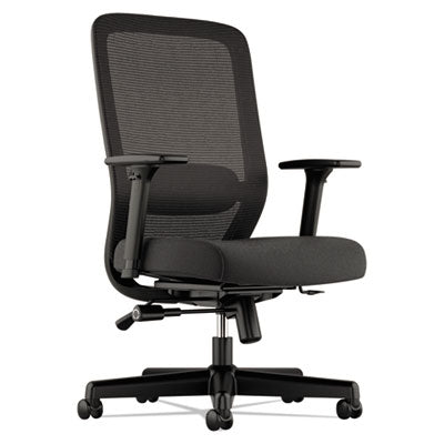 721 Mesh Executive Chair, Black w/Black
