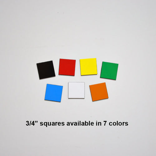 "3/4"" Square Indicator Magnets (pack of 20)"