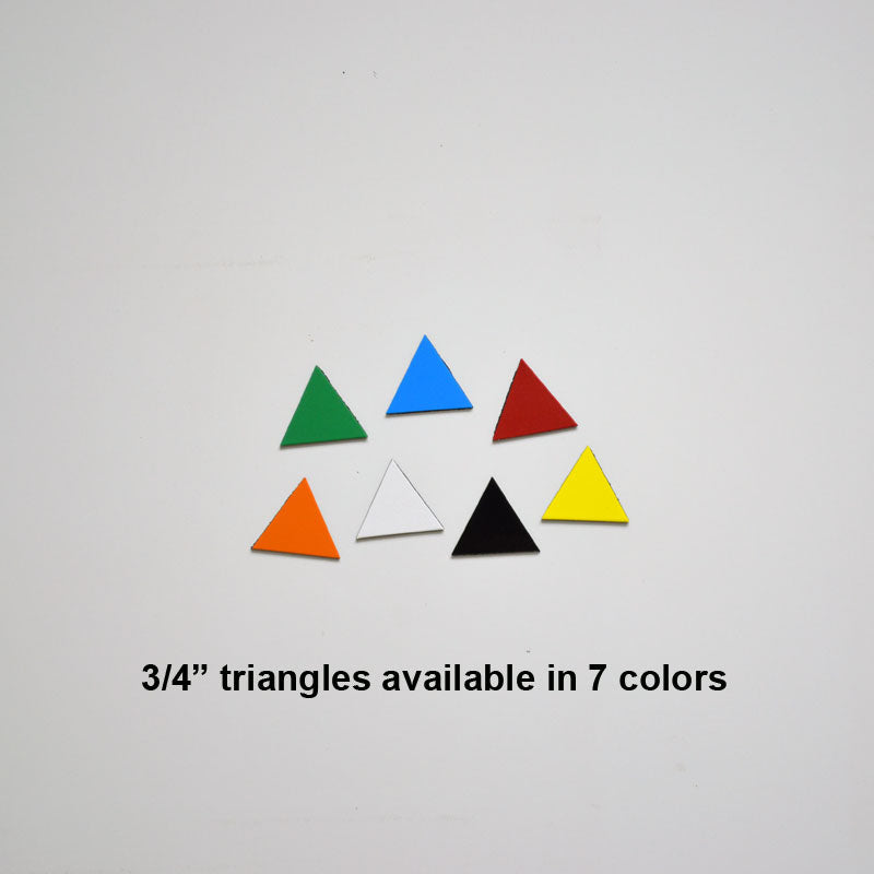 "3/4"" Triangle Indicator Magnets (pack of 20)"