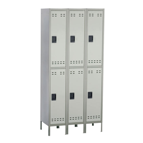 3 Double-Tier Lockers