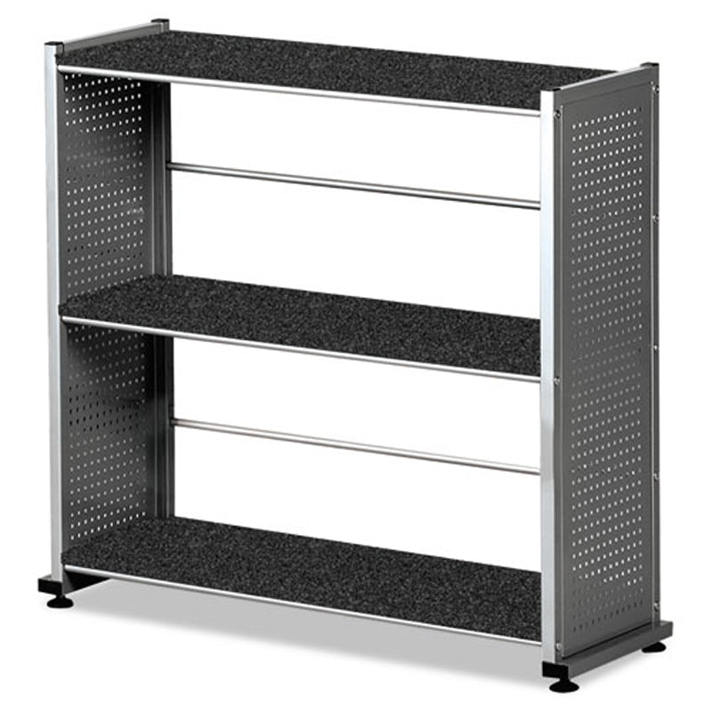 "3-Shelf Mobile Bookcase, 31 1/4""w x 11""d x 31""h"