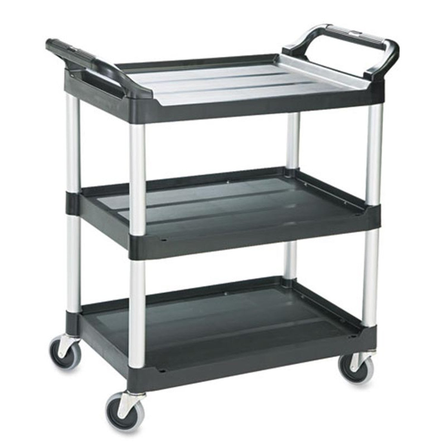 Incroyable 3 Shelf Utility Cart With Dual Handles