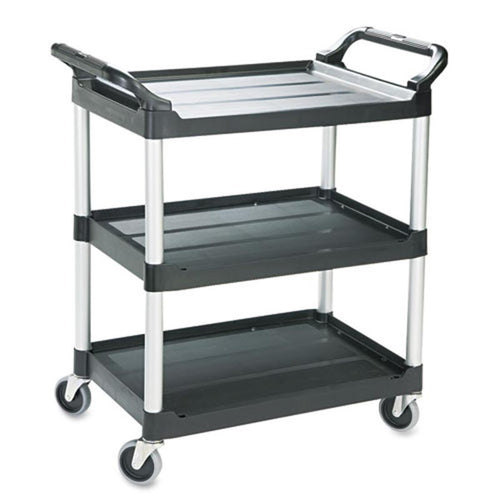 3-Shelf Utility Cart with Dual Handles