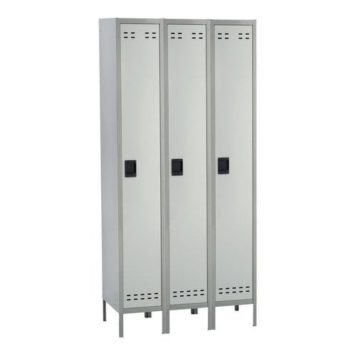 3 Single-Tier Lockers