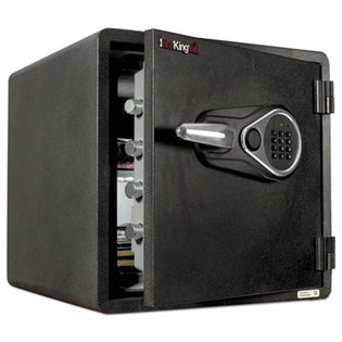 "Electronic Fire Safe, 13""w x 13""d x 12 5/8""h (interior dimensions), Graphite Color"