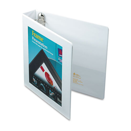 Framed Heavy-Duty Slant D-Ring View Binder