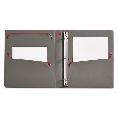 Ultralast Heavy Duty 3 One-Touch Slant Ring View Binder, Letter Size