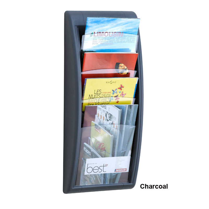 4-Pocket Wall Magazine Display
