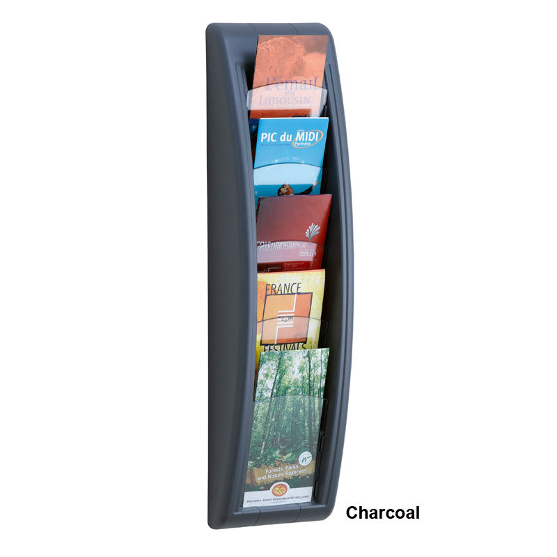 5-Pocket Wall Pamphlet Display
