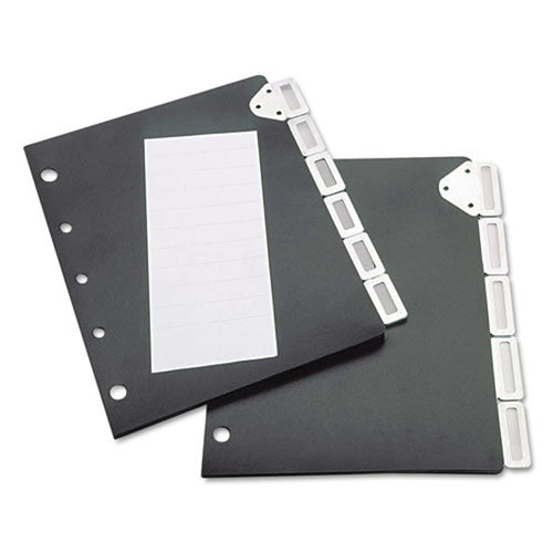 5-Tab Index Divider Set for Catalog Rack,