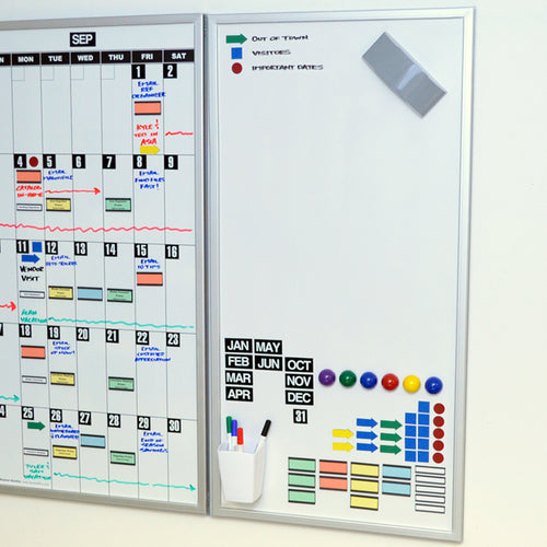 Ultimate Office Magnetic Dry-Erase Multi-Purpose Panel, The Perfect Companion Board for Modular Monthly Planning Calendars (1 Each)