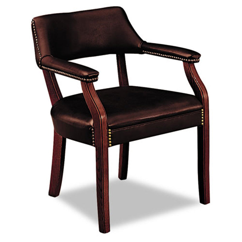 6550 Guest Arm Chair, Mahogany