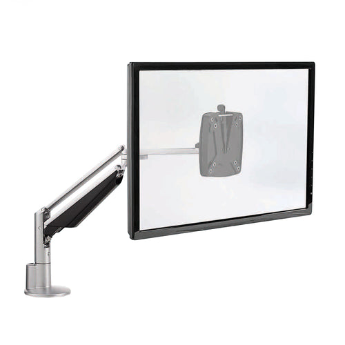 CLU Single Screen Deluxe Monitor Arm w/Extended Reach for Touchscreen Monitors