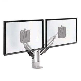 CLU Dual Screen Deluxe Monitor Arm w/Extended Reach