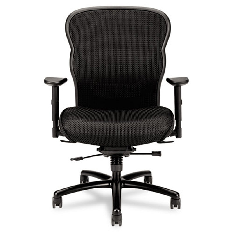 705 Big & Tall Mesh Chair, Black w/Black