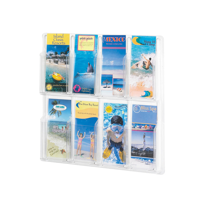 8 Pamphlet Display Clear