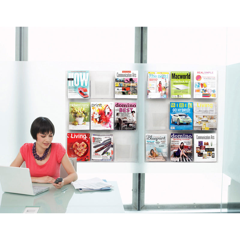 9 Magazine Display Clear
