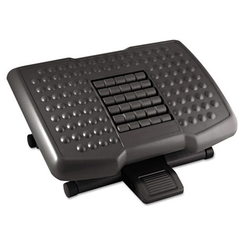 Adjustable Footrest with Massage Rollers