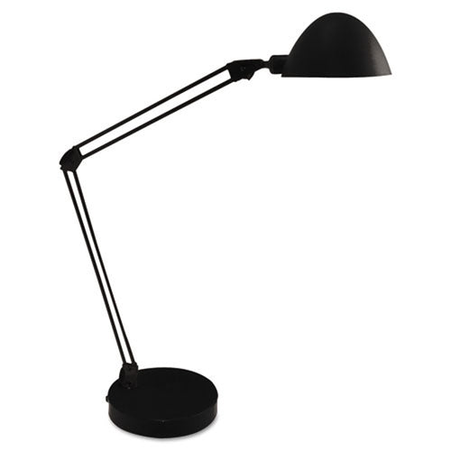 Black Flex Reach LED Desk Lamp
