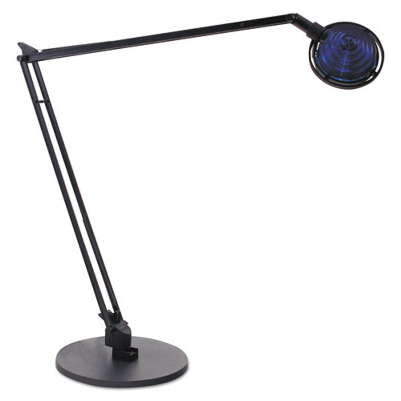 Black Halogen Desk Lamp