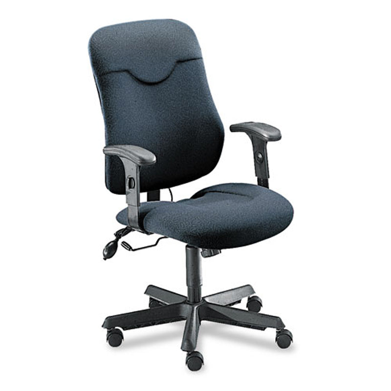 Comfort Executive Posture Swivel/Tilt Chair with Cut-Out